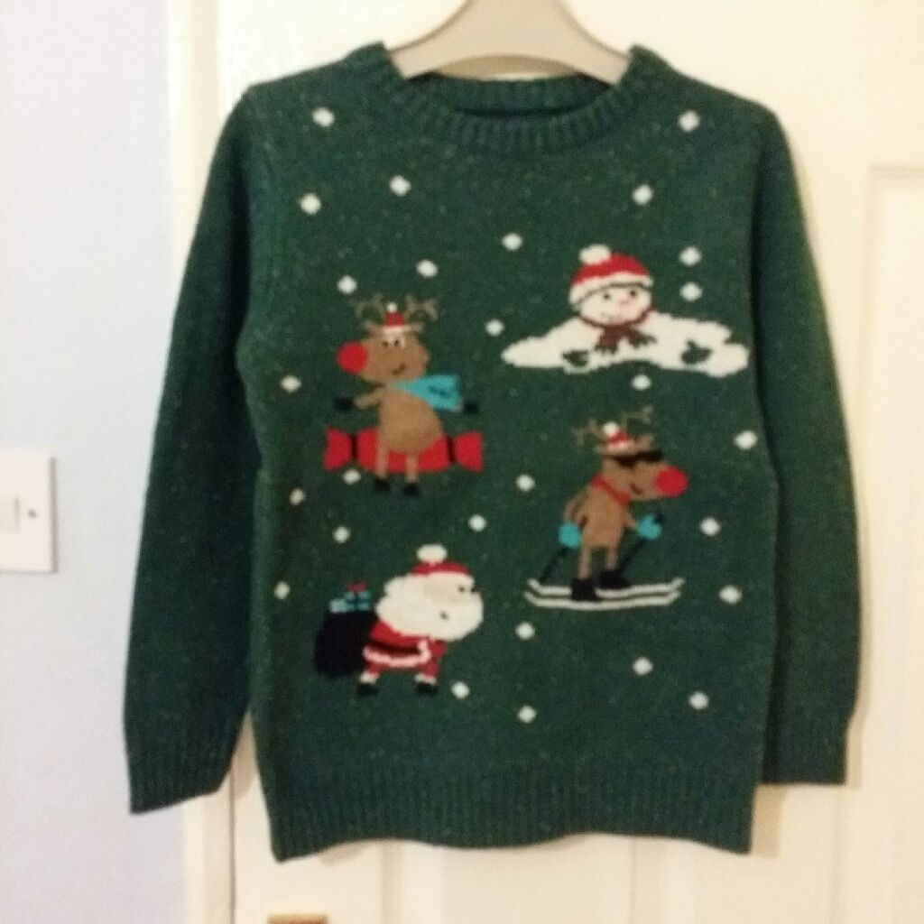 Boys Christmas jumper