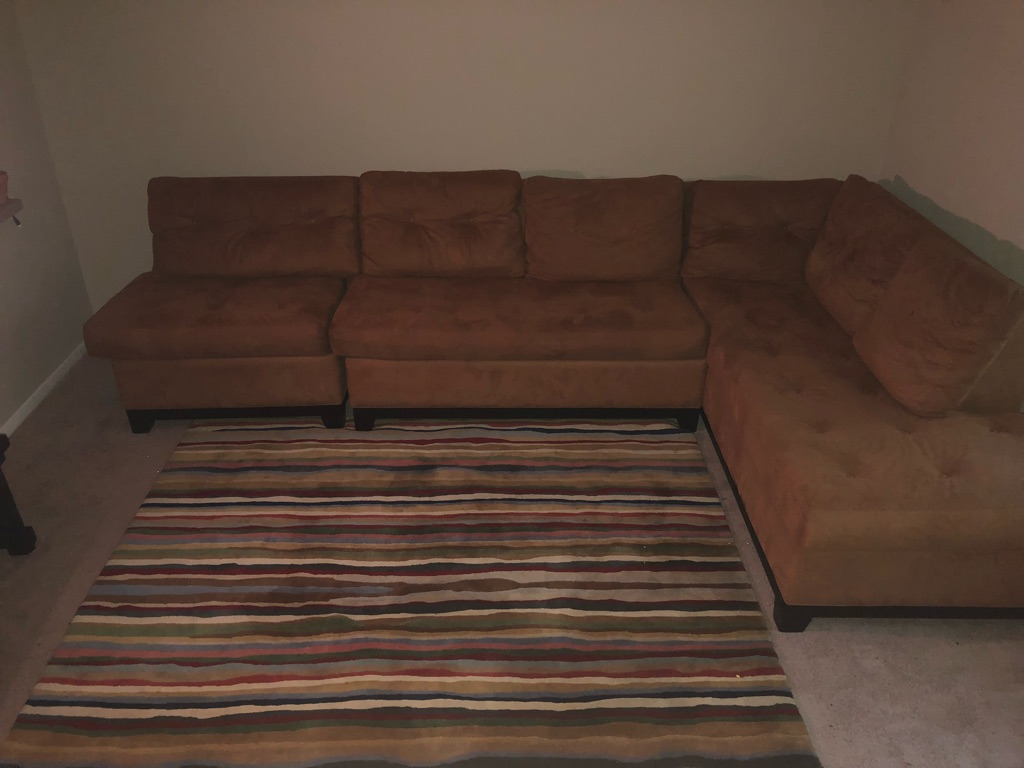 Sectional custom made couch HH GREGG