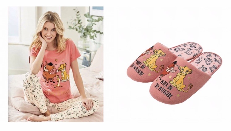The lion king pjs and slippers 😍
