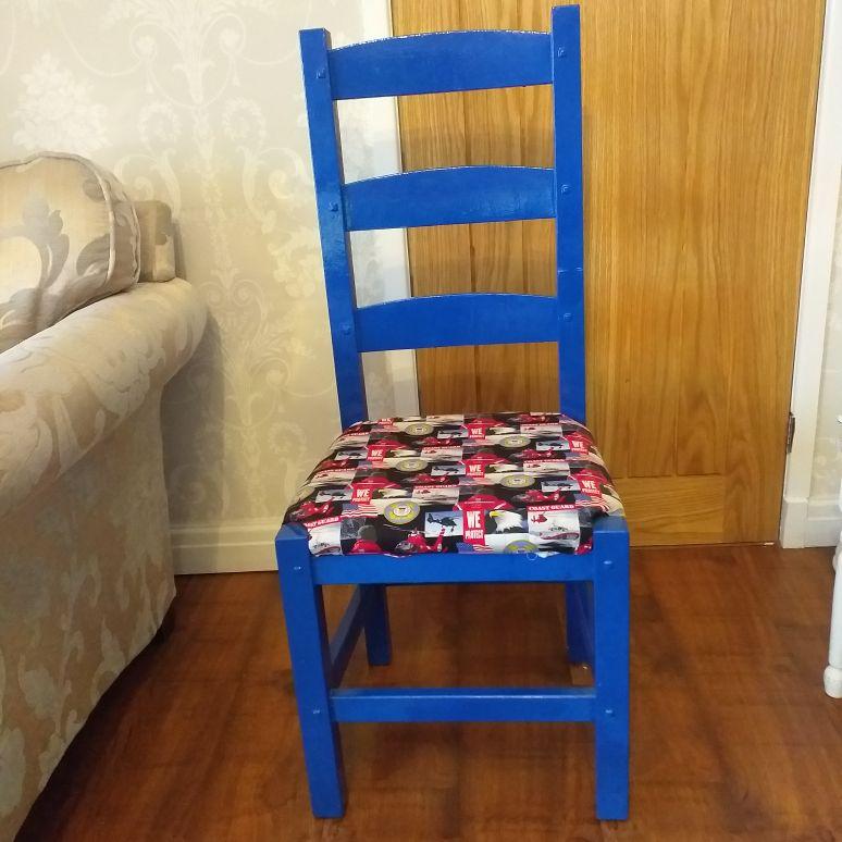 Hand Crafted US Ciadt Gaurd Chair