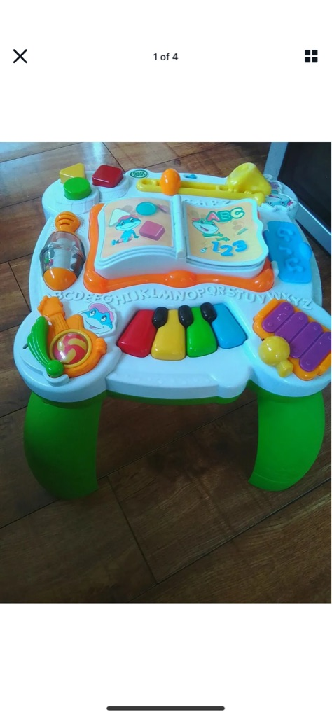 Leapfrog Leapster Bilingual Activity Table
