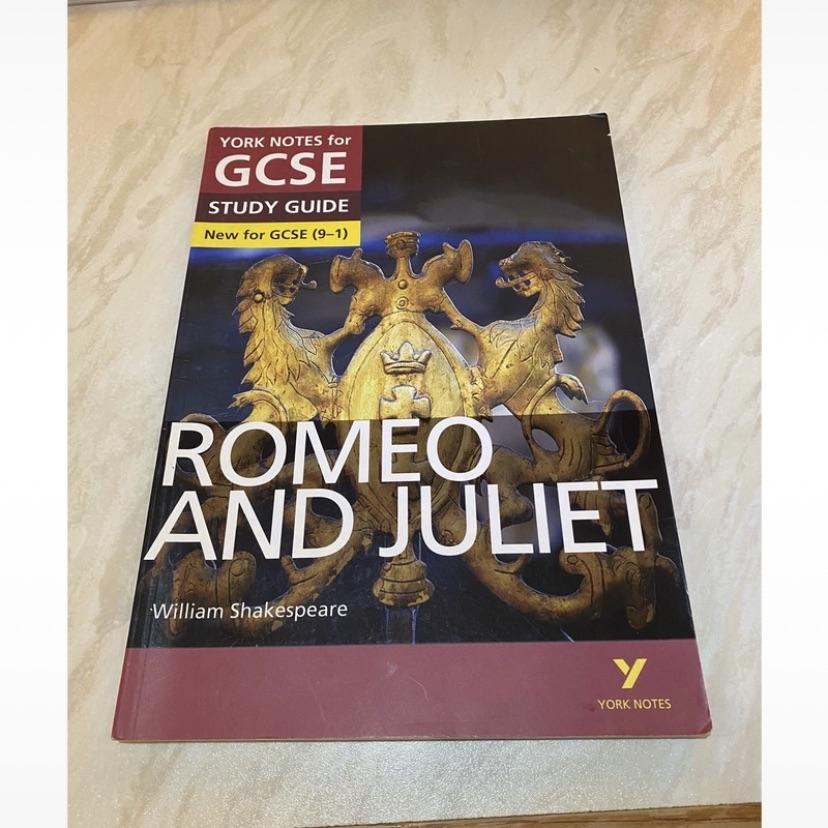 GCSE 9-1 English Literature 'Romeo & Juliet' guide