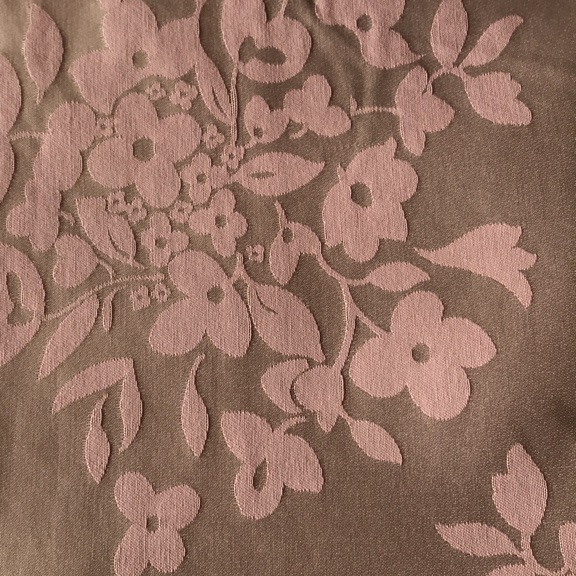 Pair of Dusky Pink Curtains