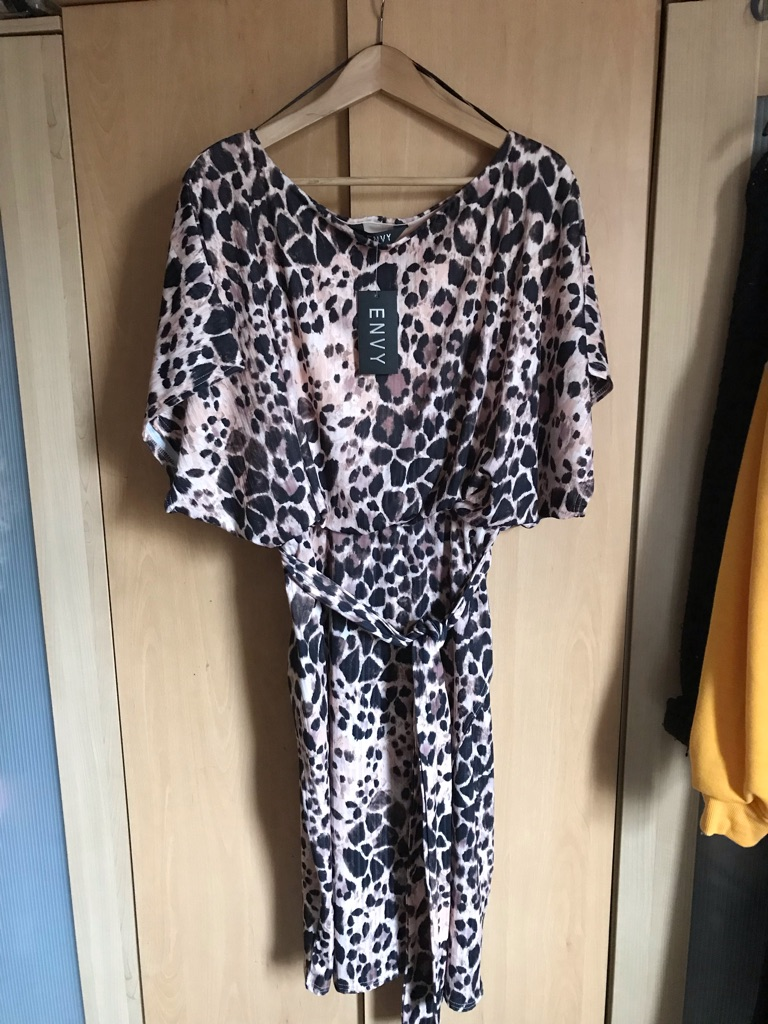 Size 18 Animal Print Dress