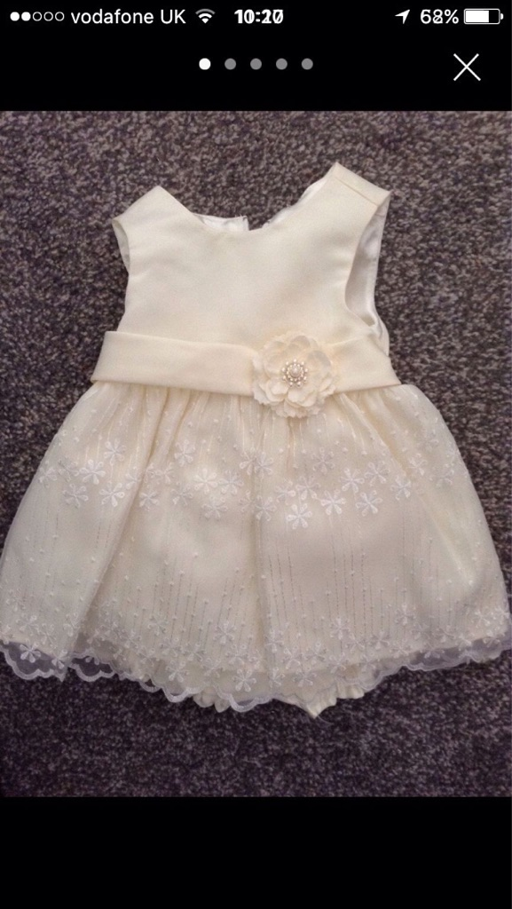Baby girl bridesmaid dress