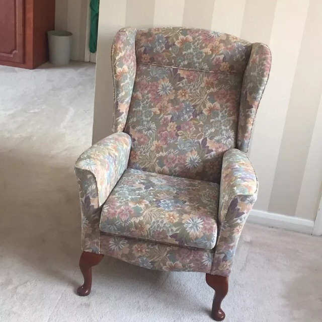 Sherborne high wing back armchair brand new