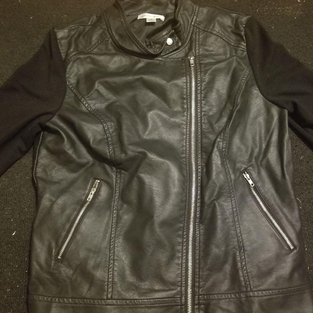 Women's small sweatshirt jacket
