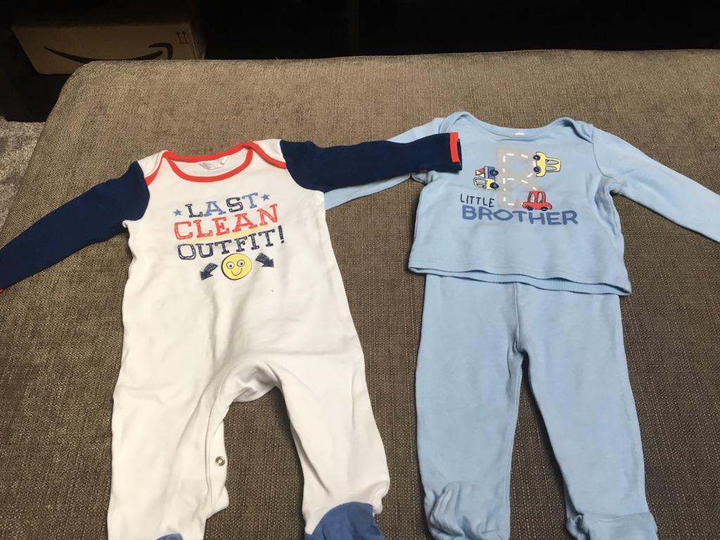 Baby boys 3-6 months sleepwear