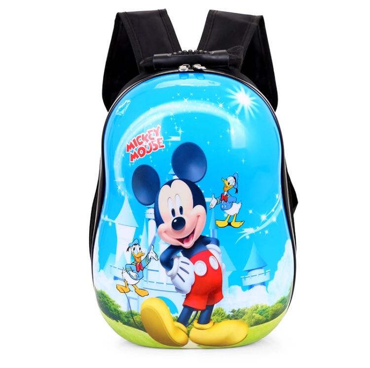 Cartoon Character Hard Shell Backpack