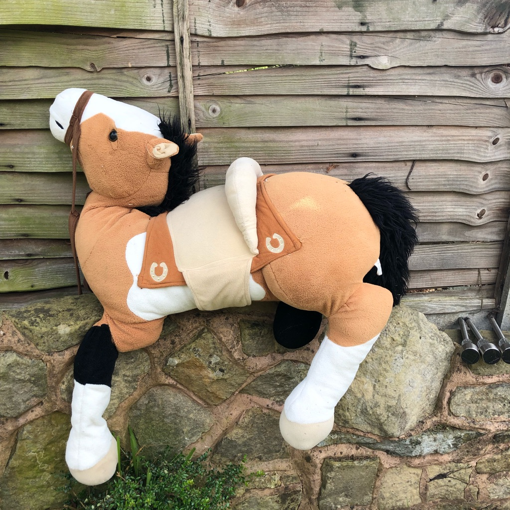 Very large horse cuddly toy
