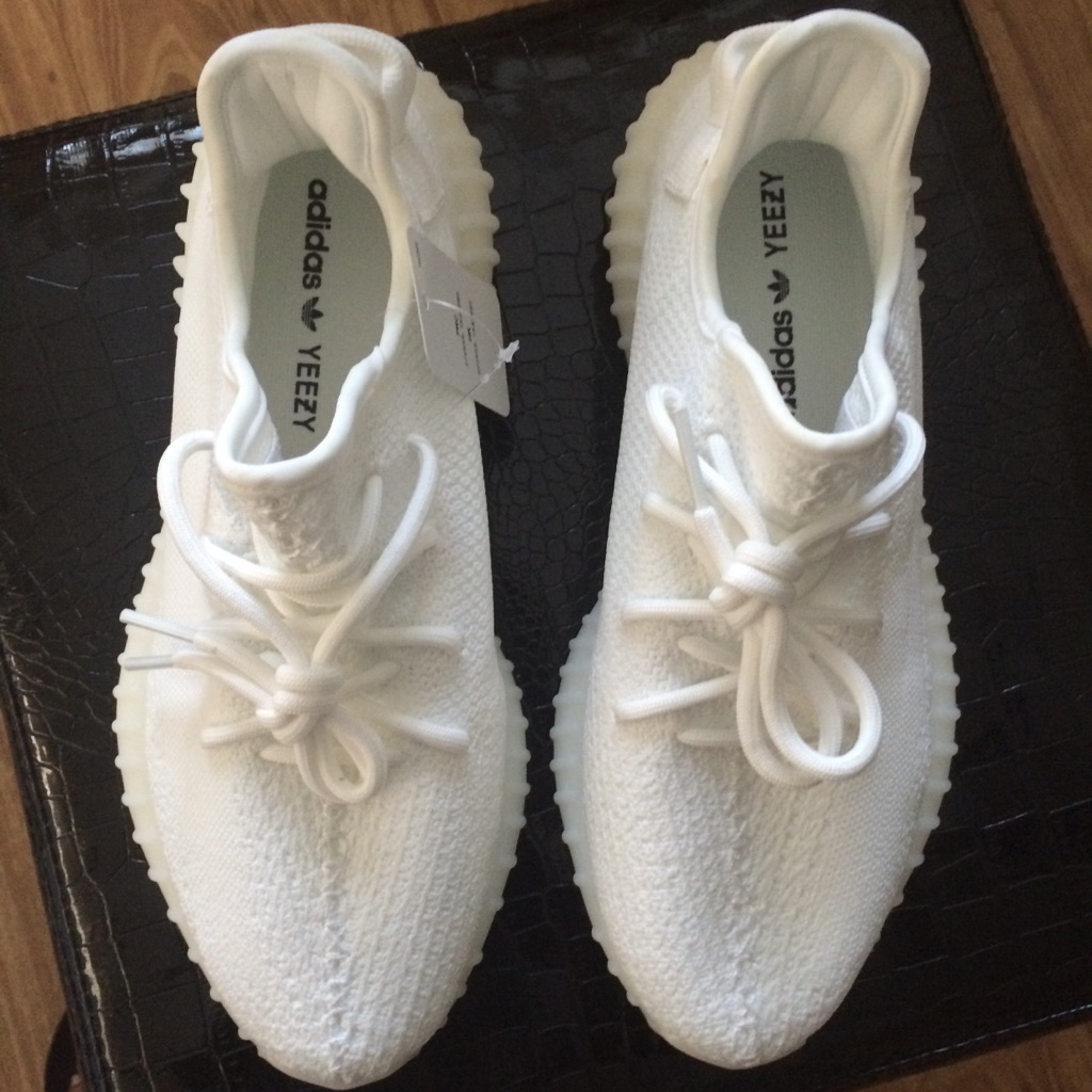 Cream White Yeezys