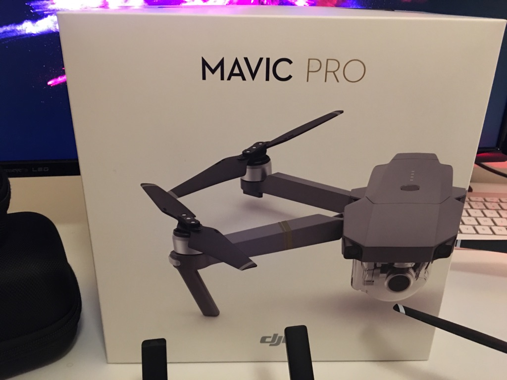 DJI Mavic pro - PRACTICALLY NEW + DJI Care