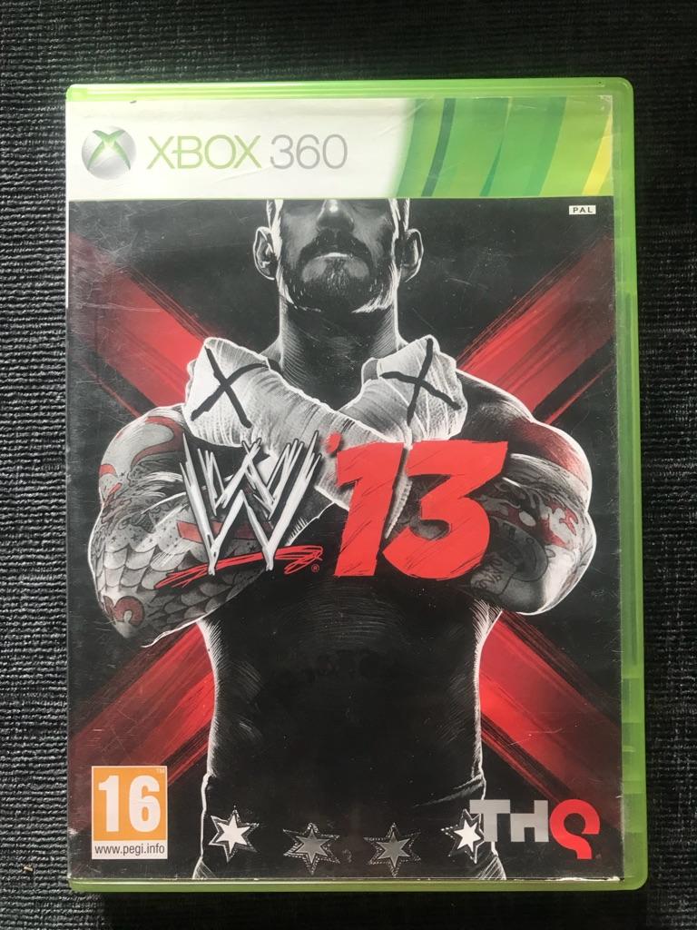 WWE 13 Xbox 360 game