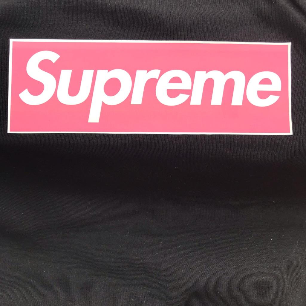 Supreme iron on vinyl patch
