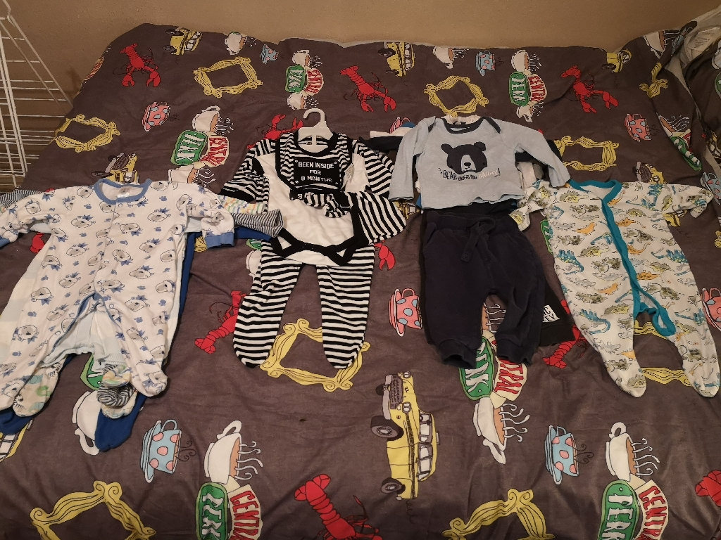 Baby boy clothes size 6-9 months £5 job lot