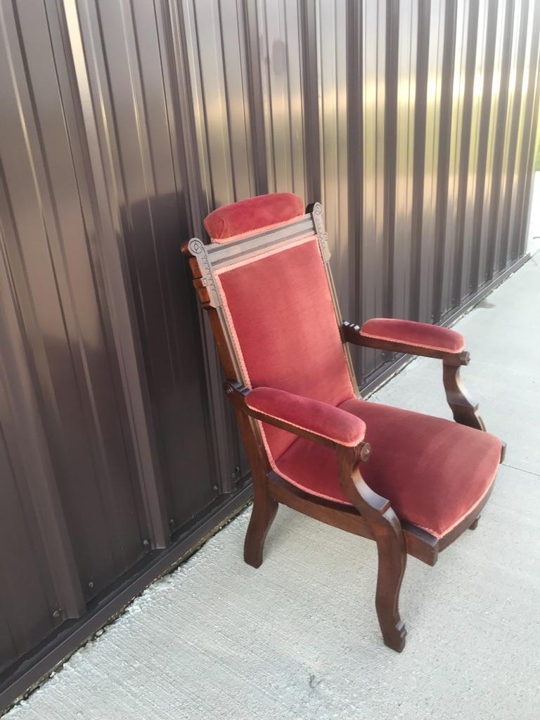 Eastlake Antique Victorian Chair