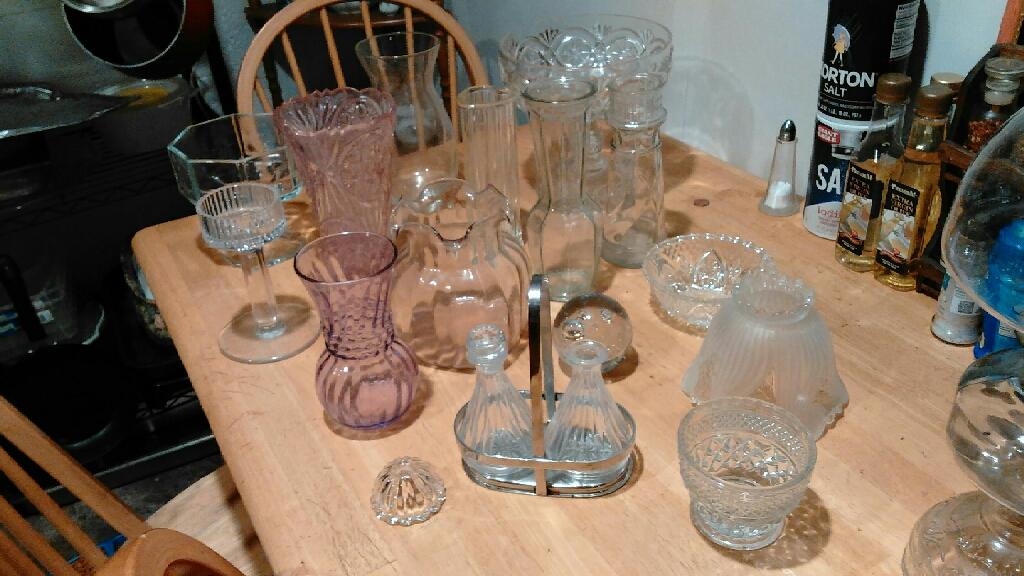 Vases candy dish boels