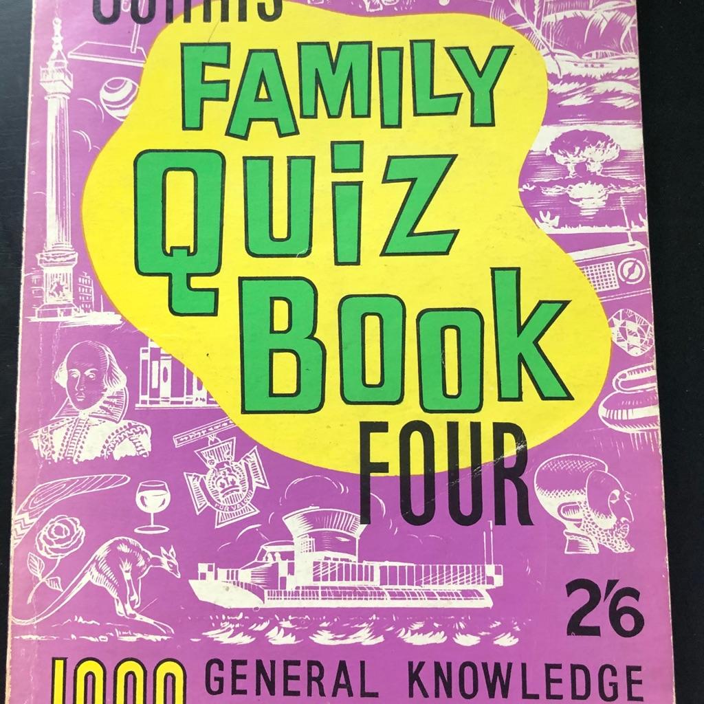 COLLINS FAMILY QUIZ BOOK