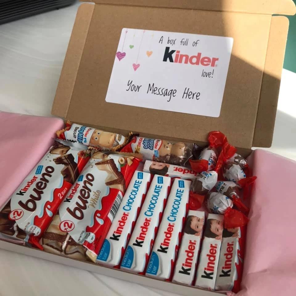 Letterbox chocolates