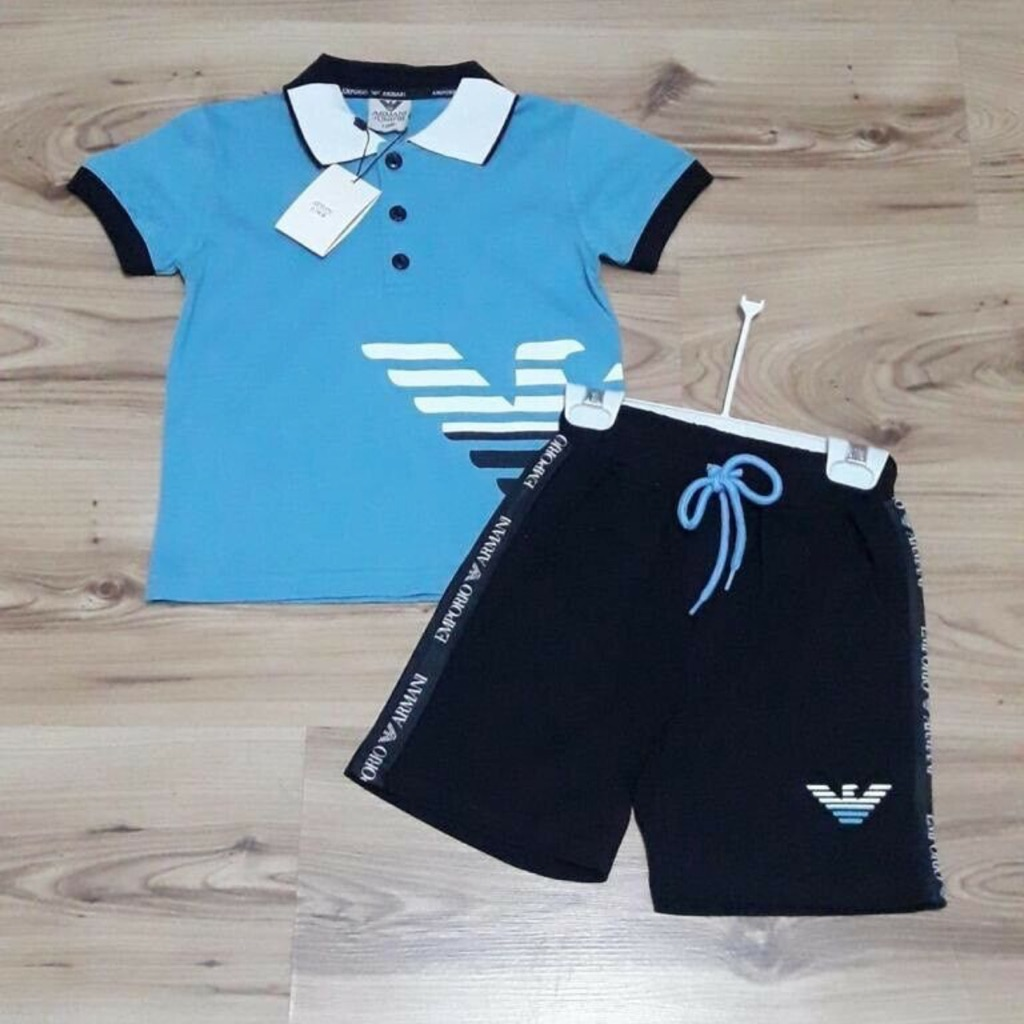 Brand new children's Armani Shorts and T-Shirt set with tags