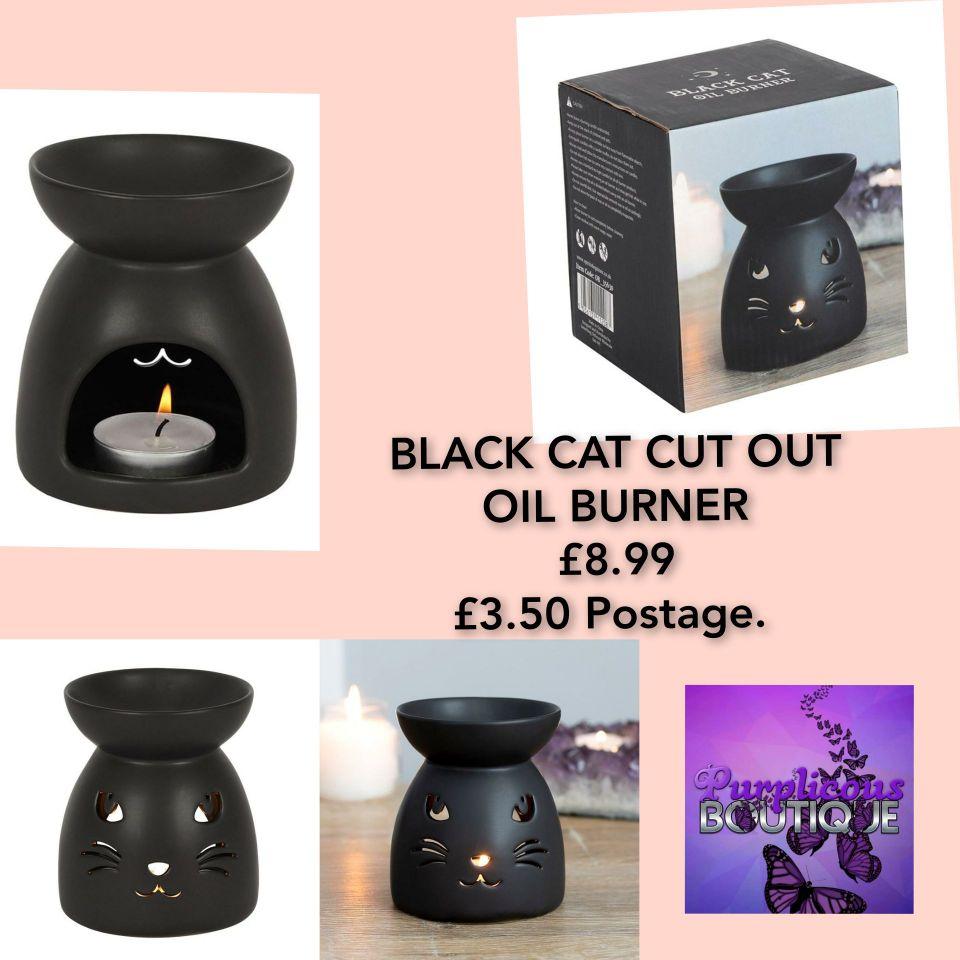 BLACK CAT CUT OUT OIL BURNER
