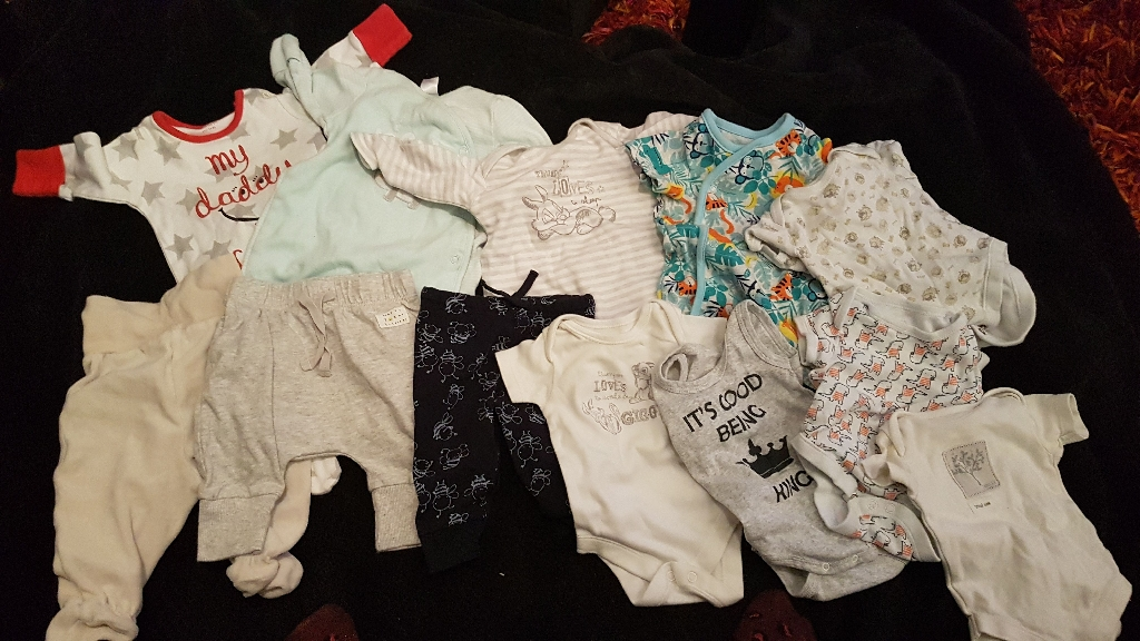 Baby boy bundle 0-2 months