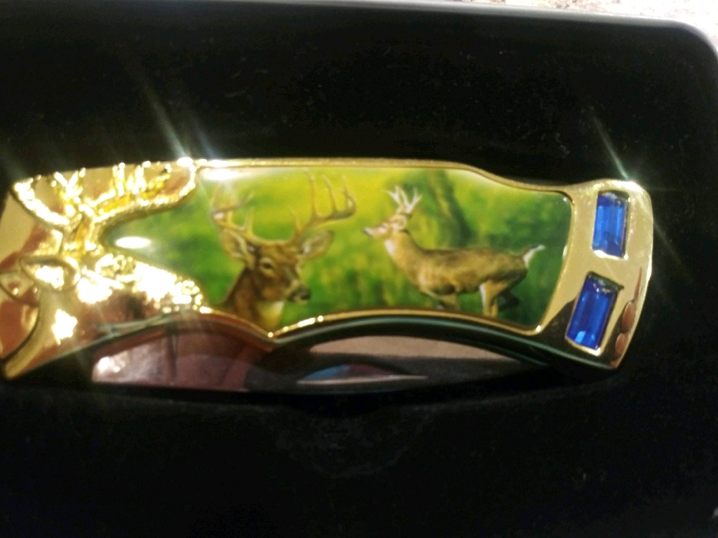 Deer Collectible Knife