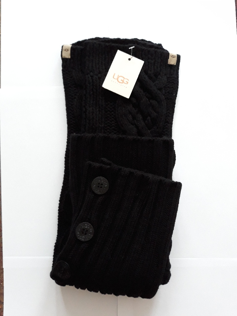 UGG Cable knit Leg Warmers RRP £49.99•28inch•Knee high•Super cosy•