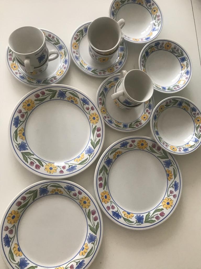 Staffordshire Tableware Summer Meadow 15 piece Set