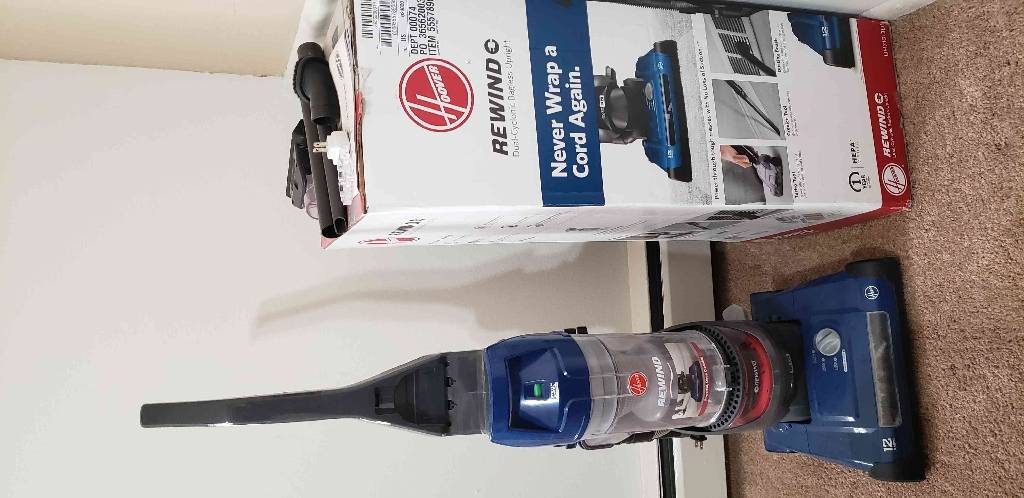 Hoover vacuum cleaner hardly used