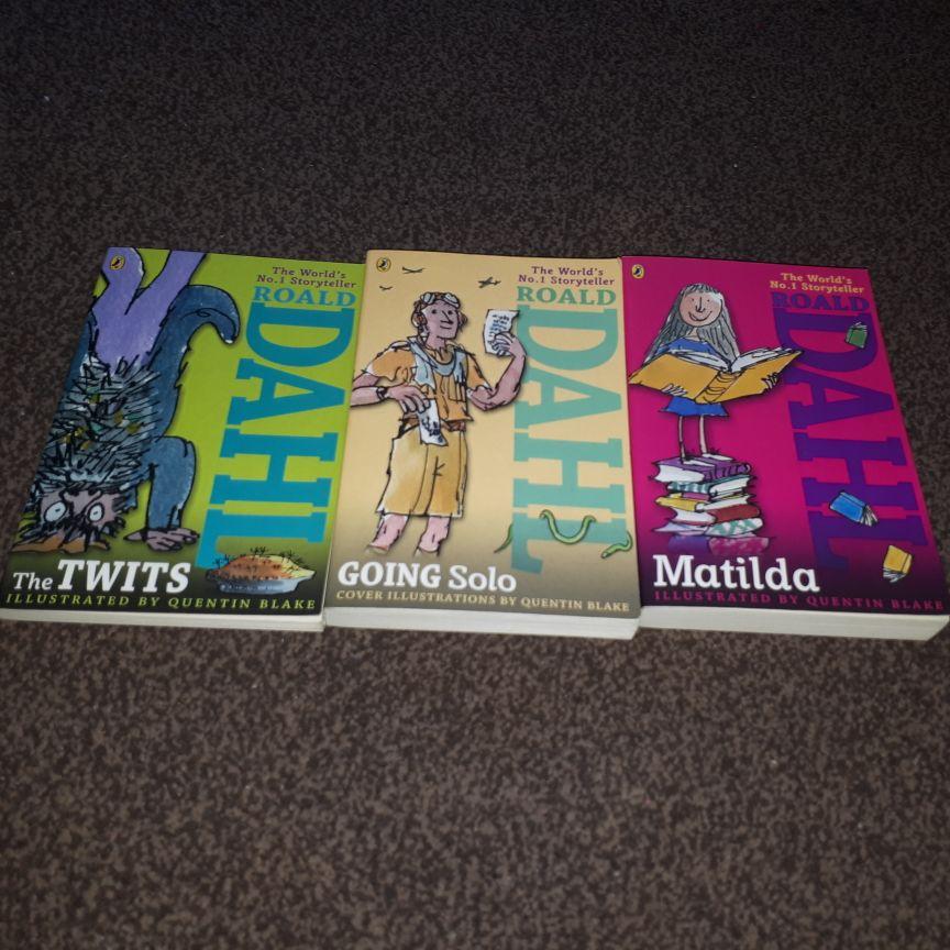 Roald Dahl Books x11