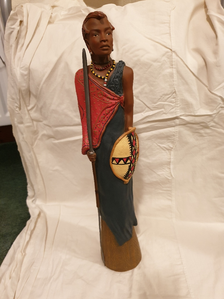 Maasi figurines from Soul journey