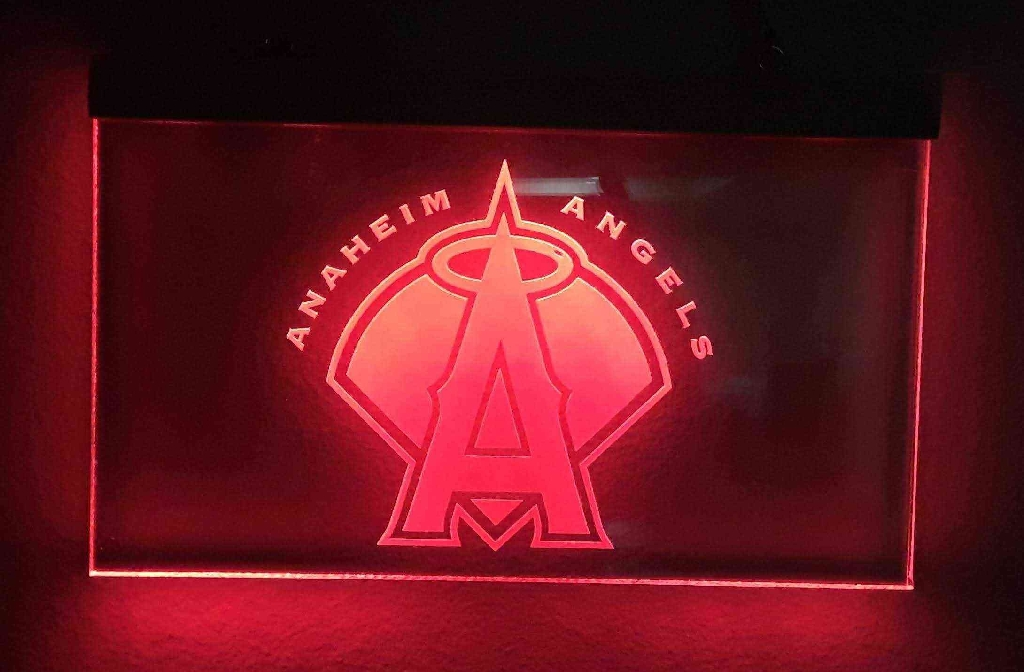 Angel's Lighted Sign