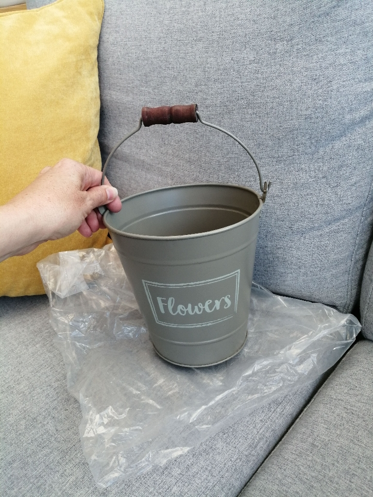 Brand New Grey Plant Pot