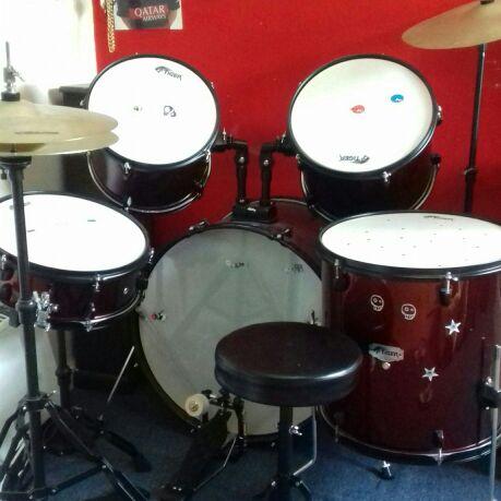 5 piece junior drum kit by Tiger