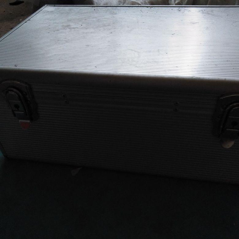 Aluminium disk storage box