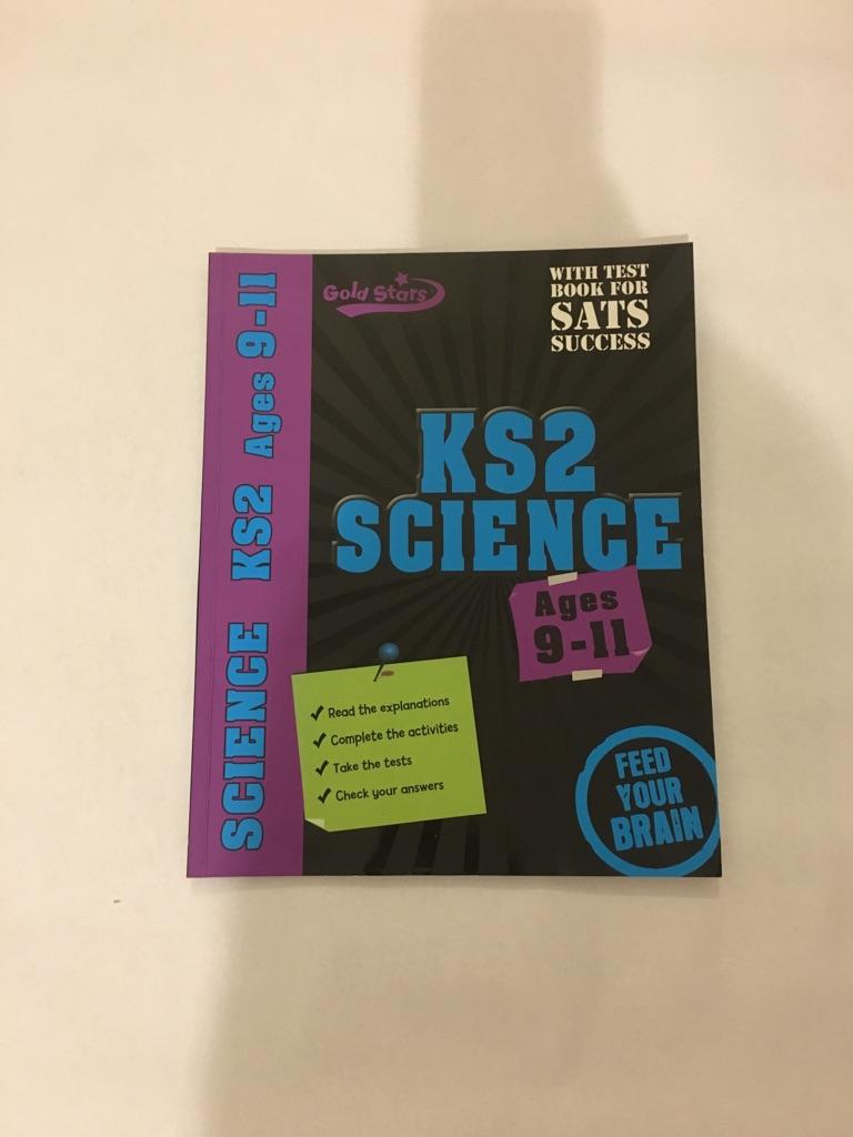 Gold Stars Workbooks: KS2 SCIENCE Ages 9-11