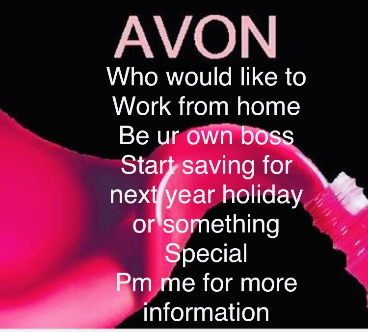 Looking for people to join Avon