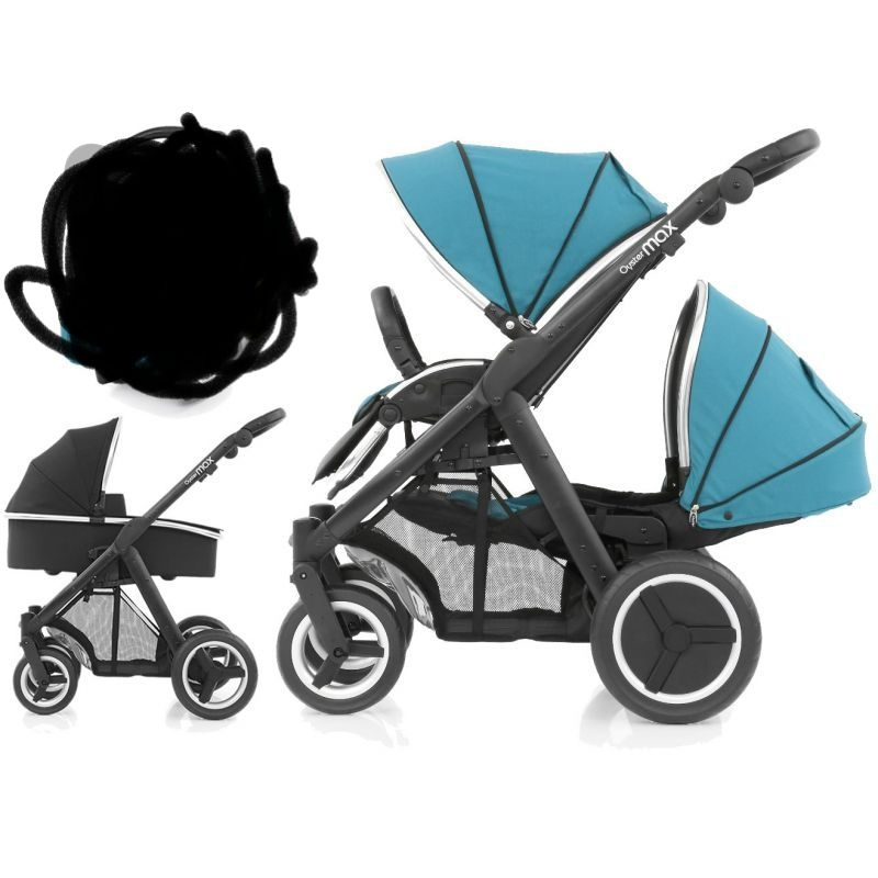 Oyster max tandem 2 with carseat and Isofix base