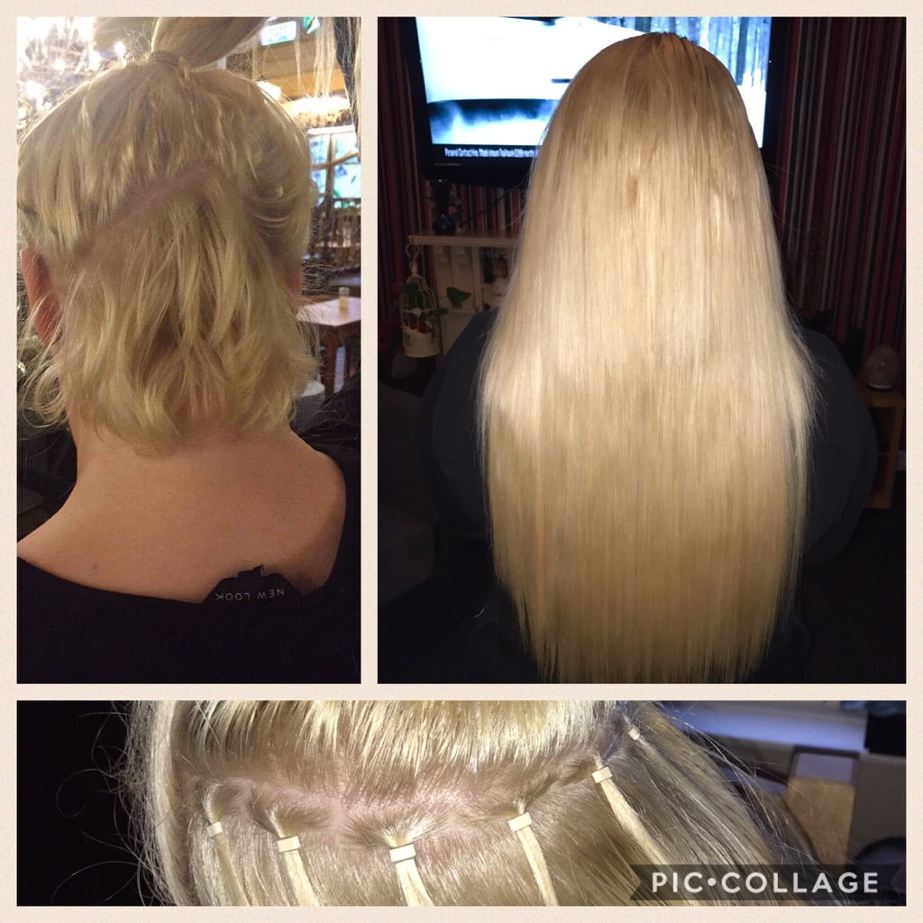 QUALIFIED hair extension fitting&blending
