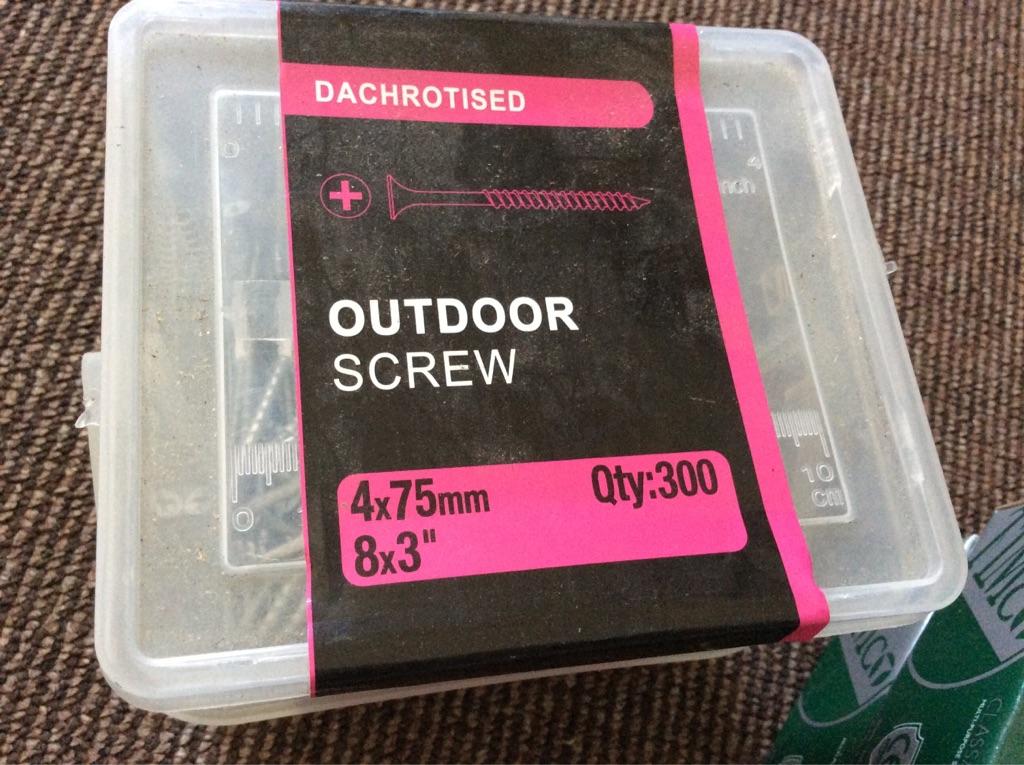 Joblot of screws