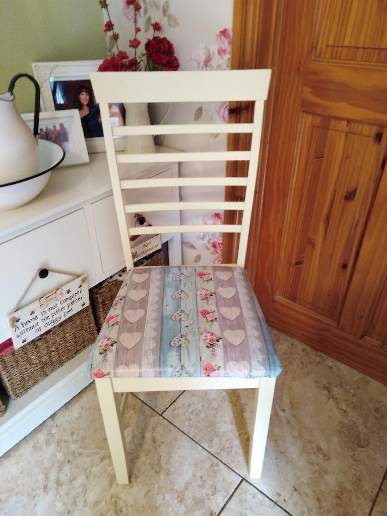 Chair, seat, nursery, hallway or bedroom