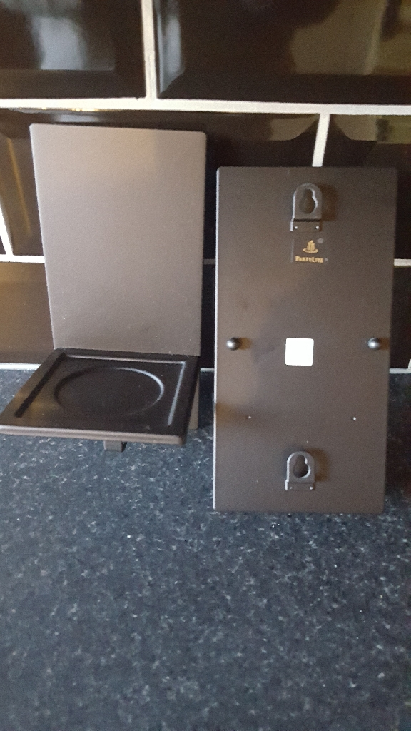 2 partylite wall sconces