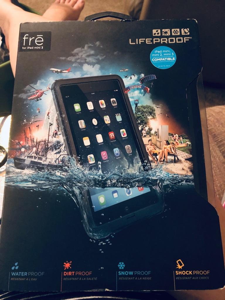 iPad Mini/Mini 2/Mini 3 Heavy Duty LifeProof Case