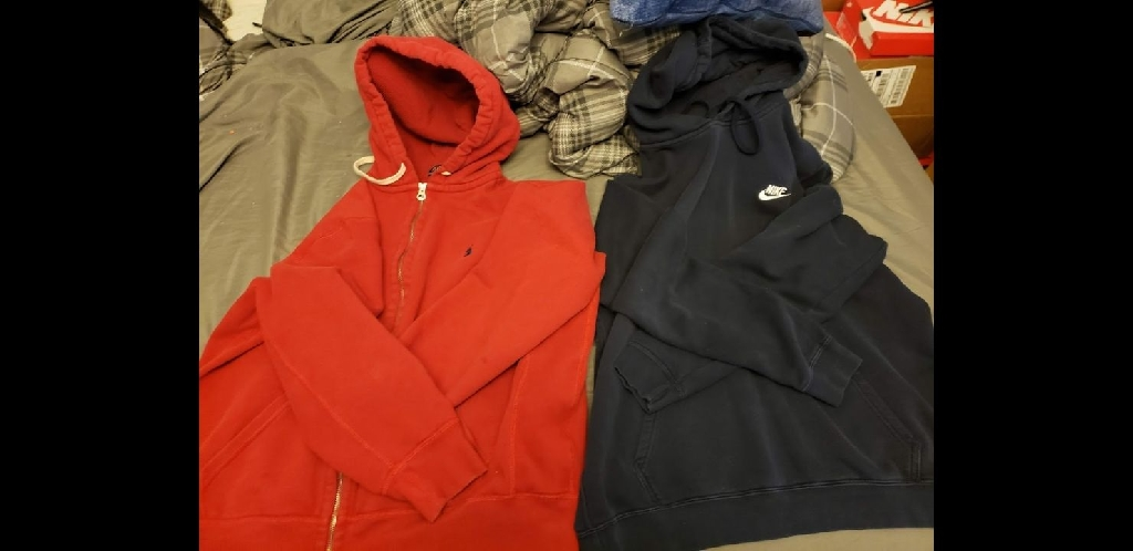 Nike Hoodie and Polo Hoodie