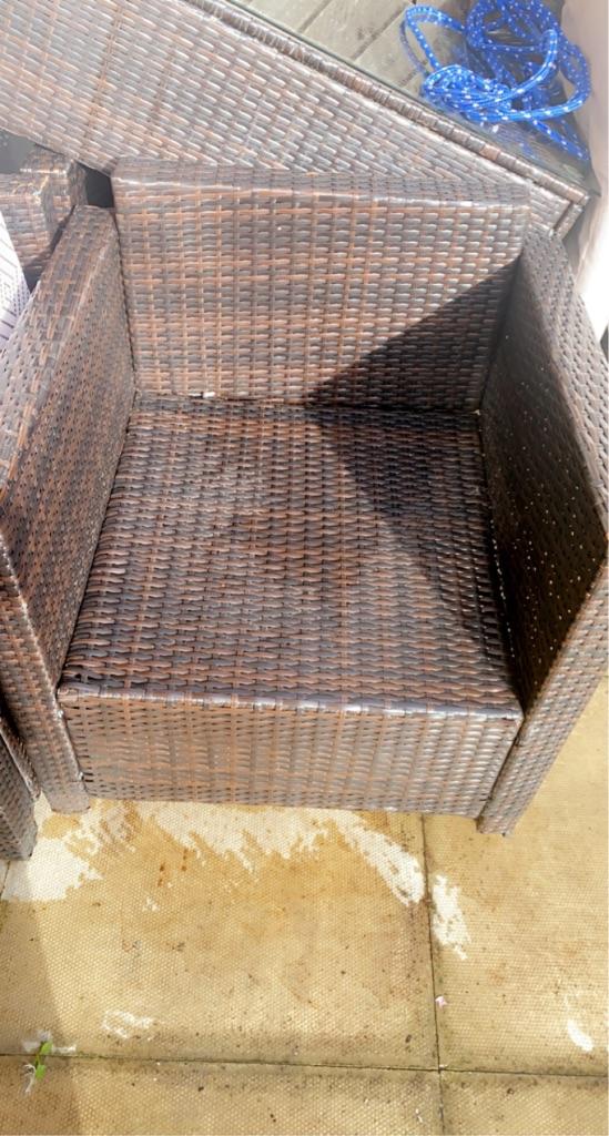 Rattan chair garden chair