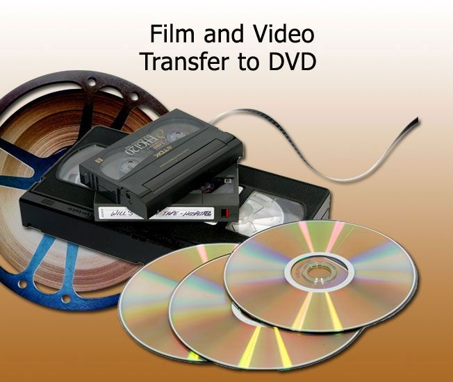 Tape to DVD Transfer. Pictures to DVD or Slide
