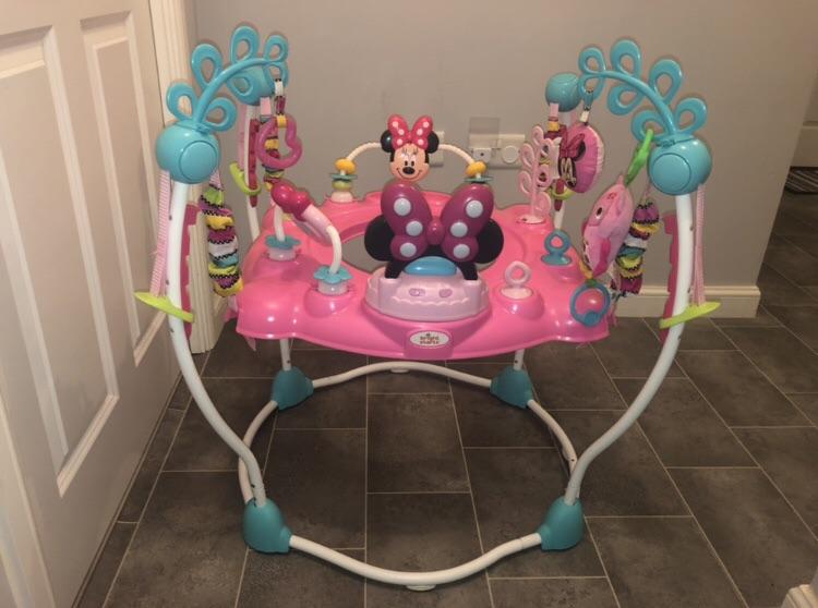 Disney Minnie Mouse jumperoo