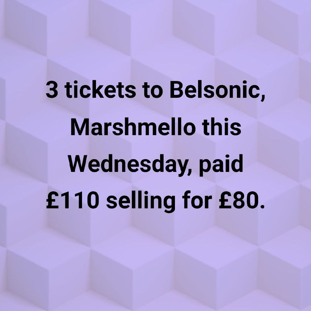 Marshmello tickets