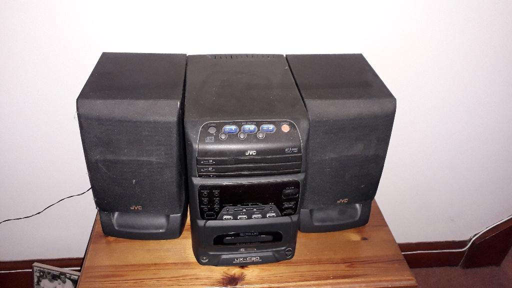 Stereo + CD holder
